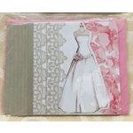 Elegant Wedding Gown Design Bridal Shower Invitation (Pkg of 8)