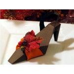 Fall/Autumn Theme Shoe Favor Box