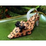 Leopard Shoe Bridal Shower Favor