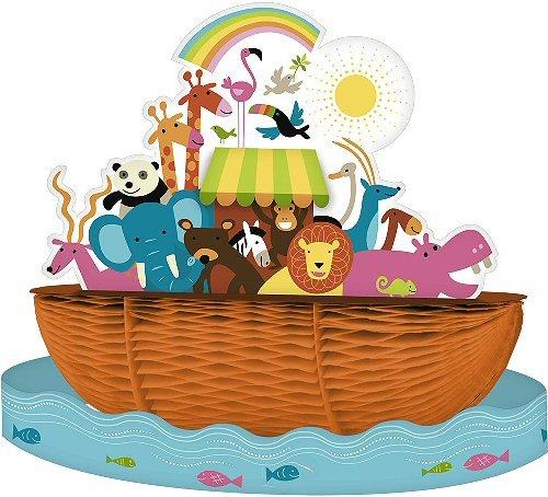 noah u0026 39 s ark baby shower centerpiece