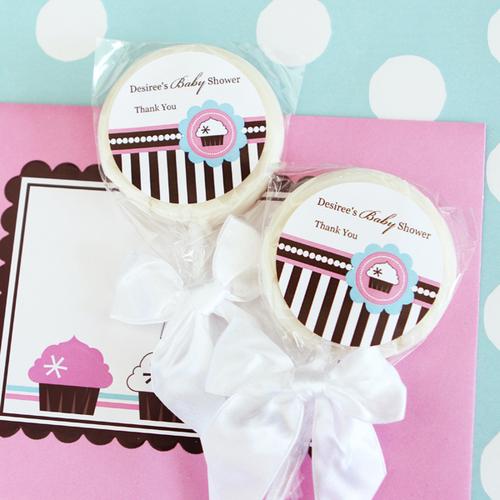Personalized Lollipop Favors - Bridal Shower