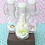 Baby Animal Personalized Mini Glass Bottles