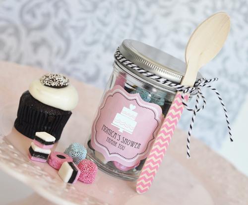 Personalized Theme Mini Mason Jars