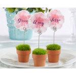 """""""Garden Party"""" Flowerpot Place Card Holder (Set of 6)"""