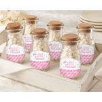 Personalized Milk Jar - Little Peanut Pink/Blue (Set Of 12)