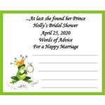 Frog Prince Advice Cards