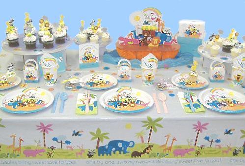 Noahs Ark Baby Shower Collection