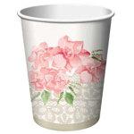 Pink Peony Bridal Shower Beverage cups(Pkg. of 8)
