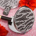 Zebra Print Classy Compact Mirror
