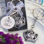 Royal Favor Collection Crown Design Key Ring Favors