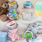 Personalized Teddy Bear Jars