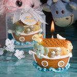 Noah's Ark Design Candles