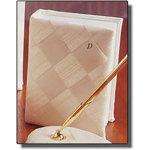 Woven Brocade Ribbon Small Hard-Bound Photo Album