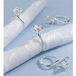 Forever Diamond Napkin Rings (Set of 4)
