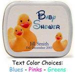 Baby Shower Mints - Duck Design