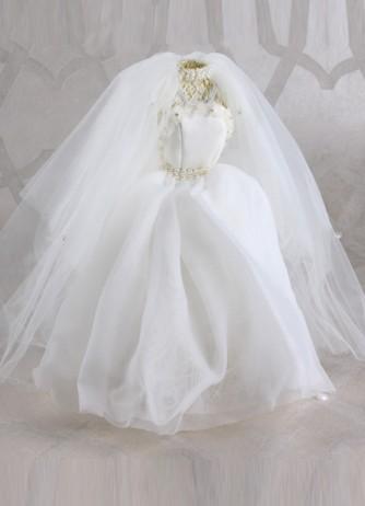 Ivory Dress Form - Medium Bridal