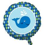 Ocean Preppy Boy Mylar Balloon (1 per package)