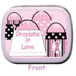 Breast Care Awareness Purse Design Mints (Set of 6)