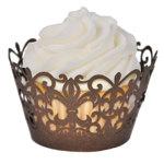 Royale Fleur De Lis Cupcake Wrapper (set of 50)