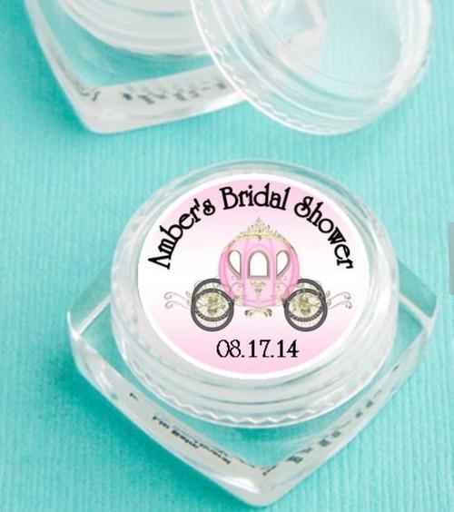 Personalized Cinderella Coach Design Lip Balm (Set of 12)