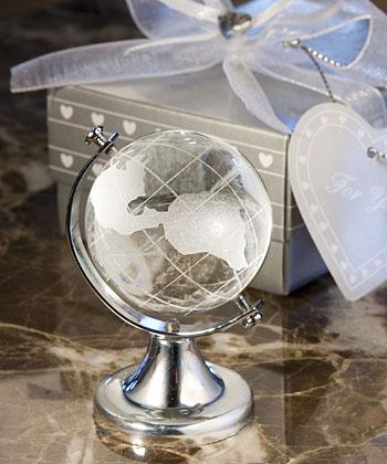Choice Crystal Globe Favor