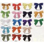 Satin Twist Tie Pre-Tied Bows (18 colors)