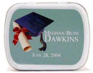 Graduation Cap Mint Tins
