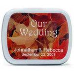 Wedding Fall Background Mints