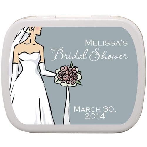 Wedding Dress Personalized Mints