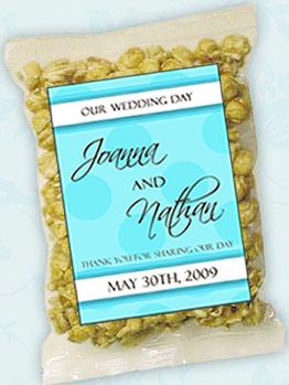 Personalized Wedding Caramel Corn (19 designs)