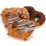 Classic Chocolate & Caramel Pretzel Twists