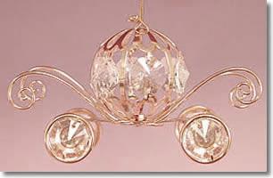 Cinderella Coach Sun Catchers Ornaments Favor (Avail. in Silver)