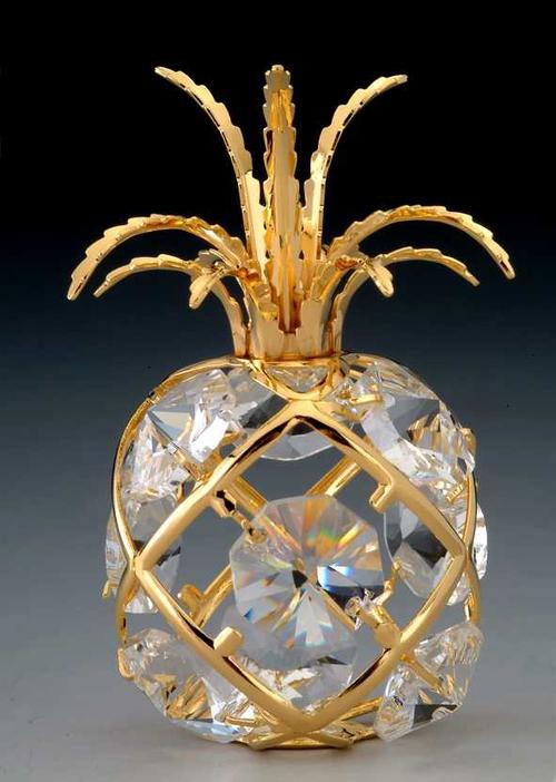 Pineapple Sun Catcher Ornament