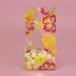 Hawaiian Hibiscus Design Cello Candy Bag (Set of 100)