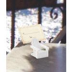 White Adirondack Chair Cardholder